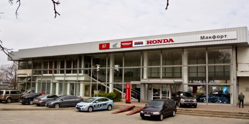Макфорд — Honda