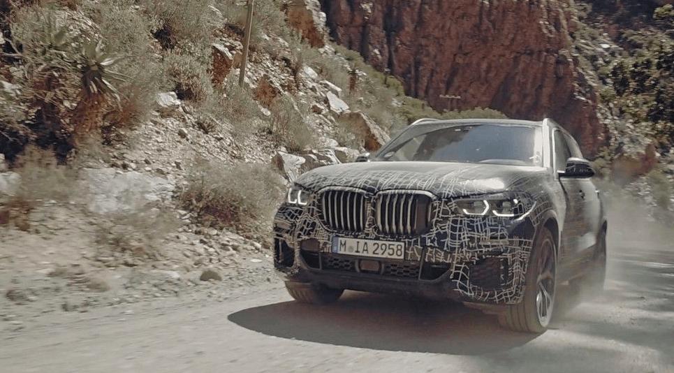 Официальные фото нового BMW X5 2019