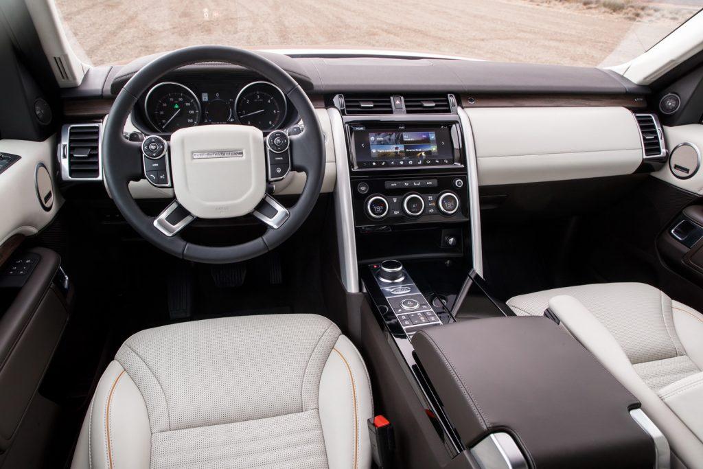 Что новенького у модернизированного Land Rover Discovery