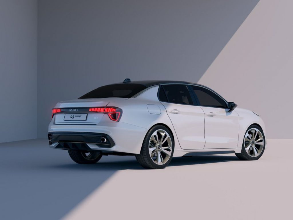 Седан Geely-Volvo в базовой комплектации за 18500$