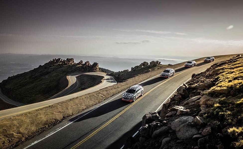 17 сентября в Сан-Франциско компания Audi представит серийный электрокроссовер кроссовер E-Tron.