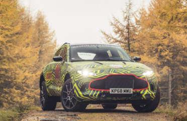 Aston Martin DBX 2019 представил первый кроссовер британского производства. В продажу он выйдет в конце следующего года.