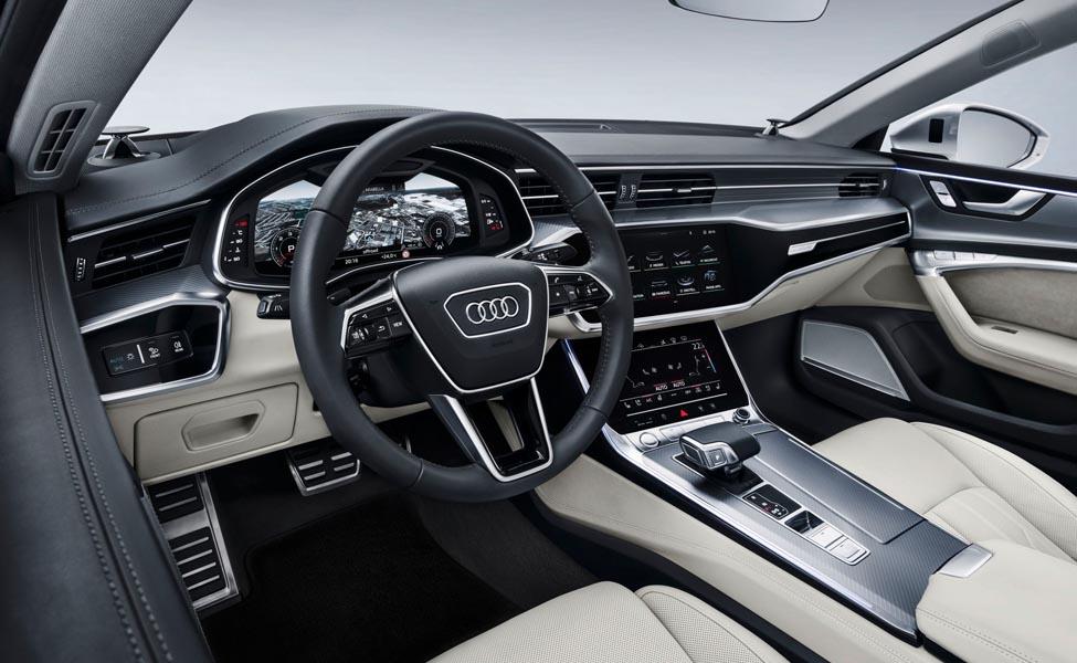 Версия RS7 нового Audi A7 Sportback была проверена в почти производственной форме.