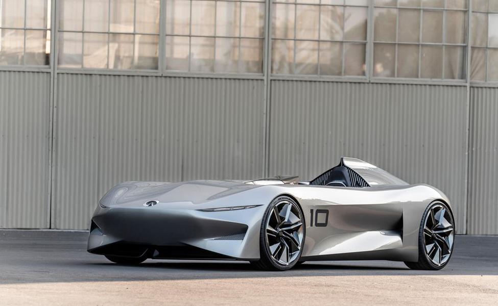Гладкая концепция Infiniti могла бы служить в качестве плана будущих моделей для всех электрических характеристик.