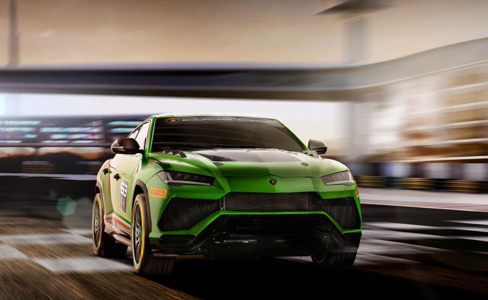 Lamborghini Urus ST-X - трек-кроссовер, который показал себя как по асфальту, так и на гравийных цепях.