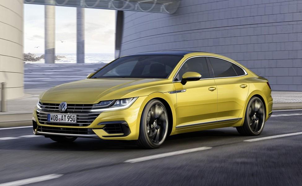Volkswagen Arteon - модный фастбэк, который сочится премиум-качествами, идеальный автомобиль для исполнительного покупателя.
