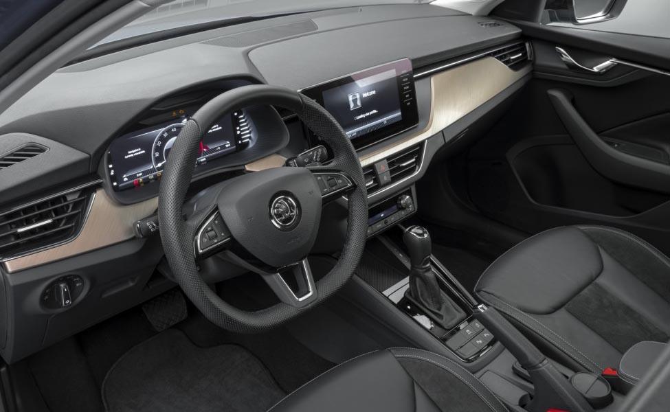 Skoda сняла чехлы со своего нового хэтчбека Scala, который, как она надеется, вызовет ожесточенное соперничество с Volkswagen Golf и Ford Focus.